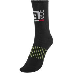 Alé Cycling Winter Primaloft High Socks Black